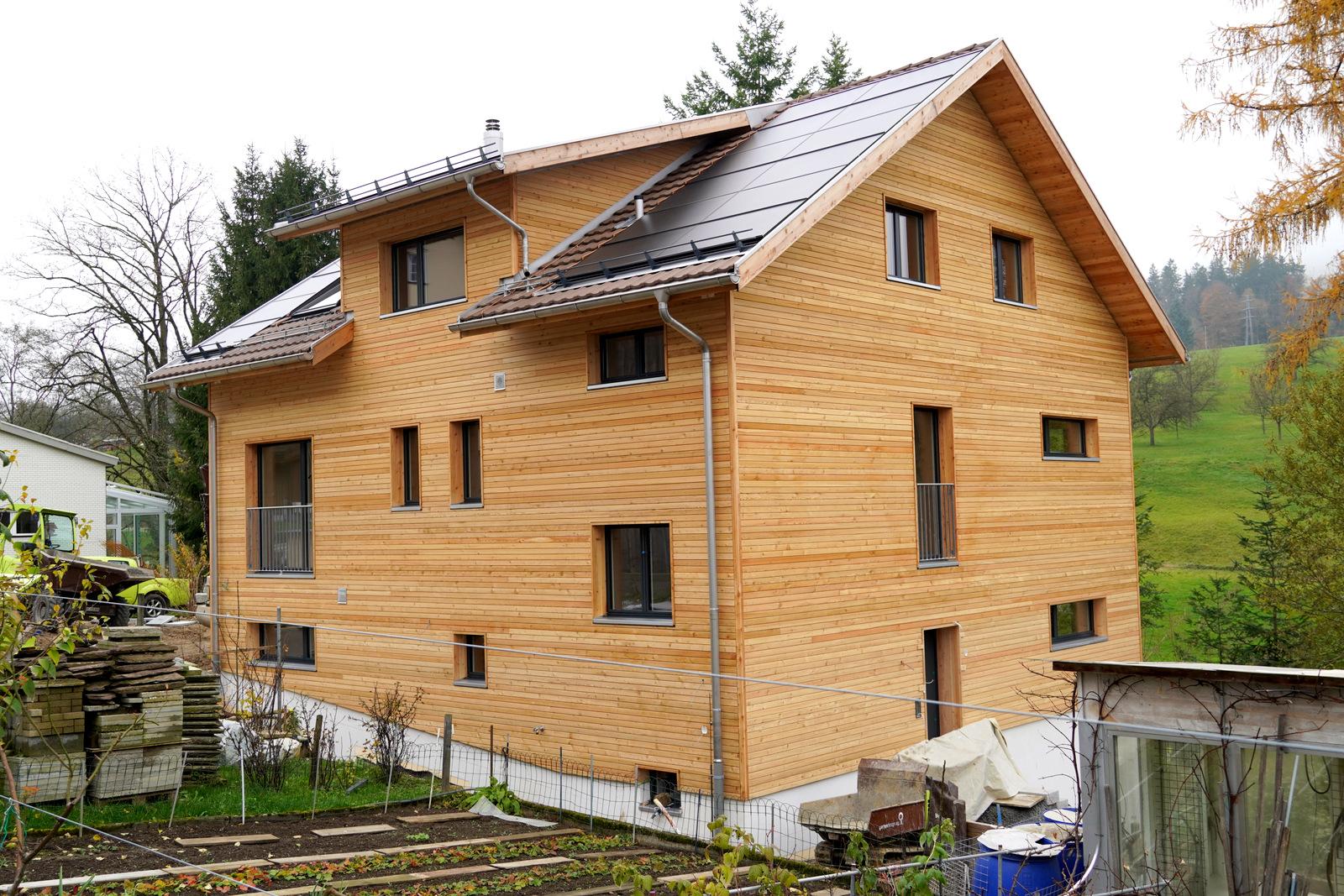 Baustellenbericht EFH Helfenberger