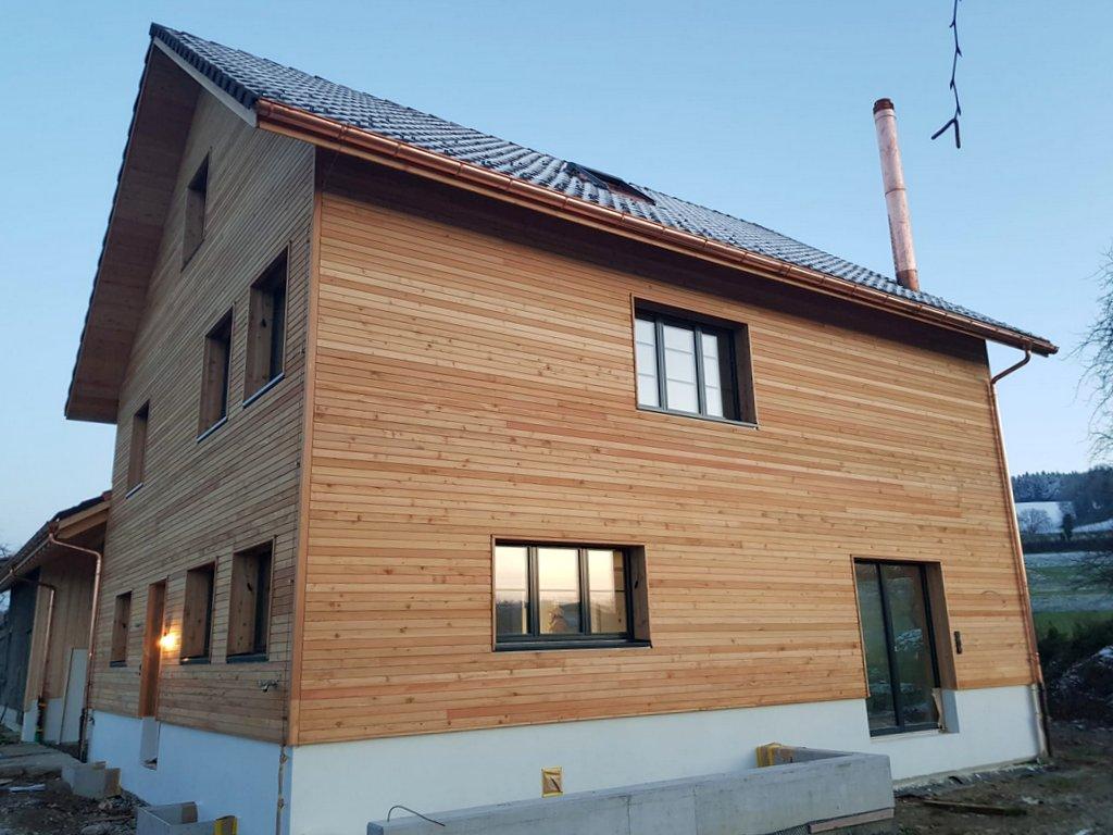 Baustellenbericht EFH Fräfel, Jonschwil